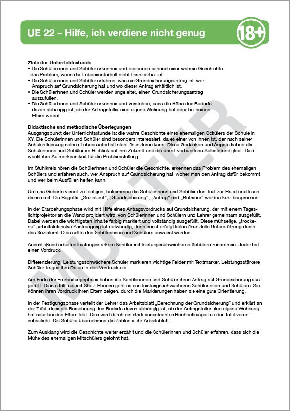 Modul 5: Grundsicherung - ag18plus